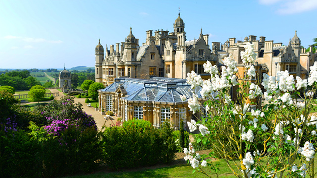 Harlaxton in summertime